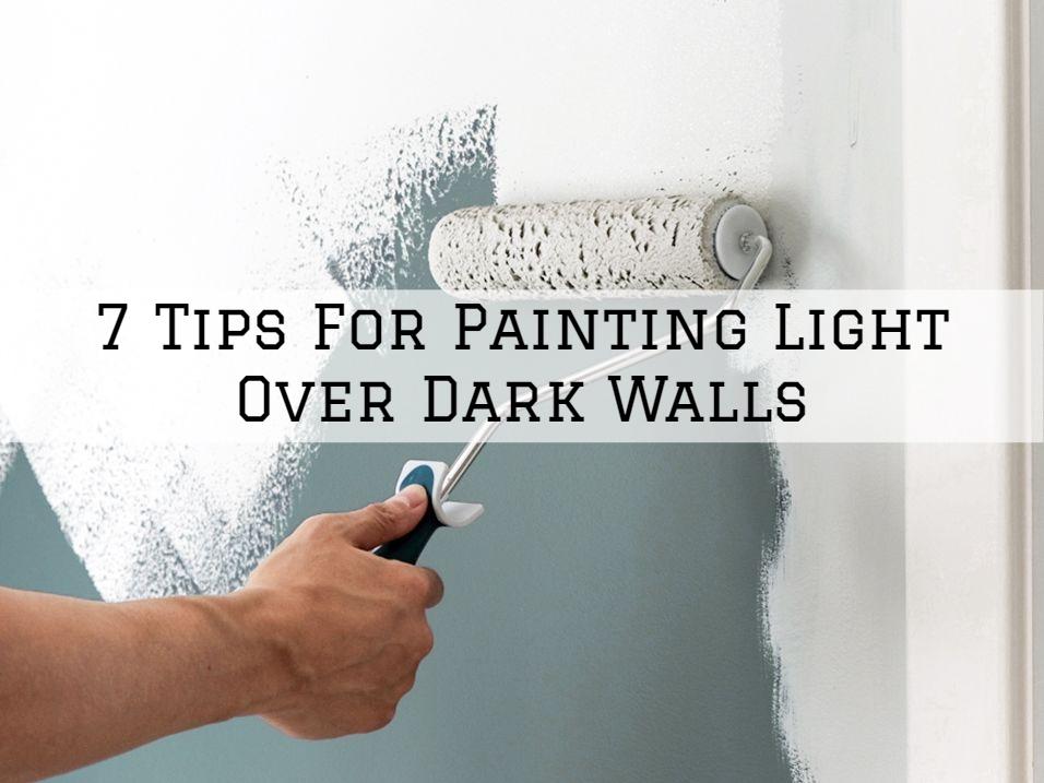 04-06-2021 Eason Painting Romeo MI tips for painting light over dark walls