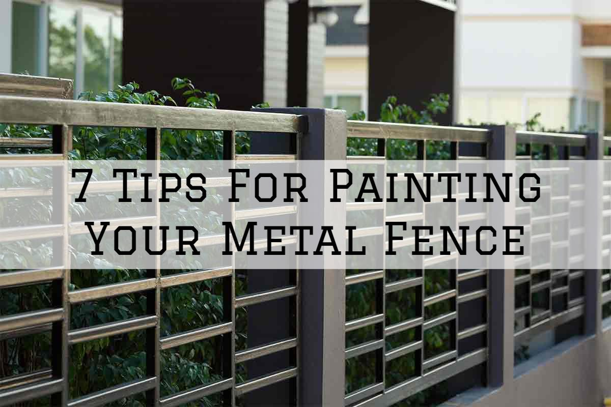 25-06-2021 Eason Painting Romeo MI tips for painting your metal fence
