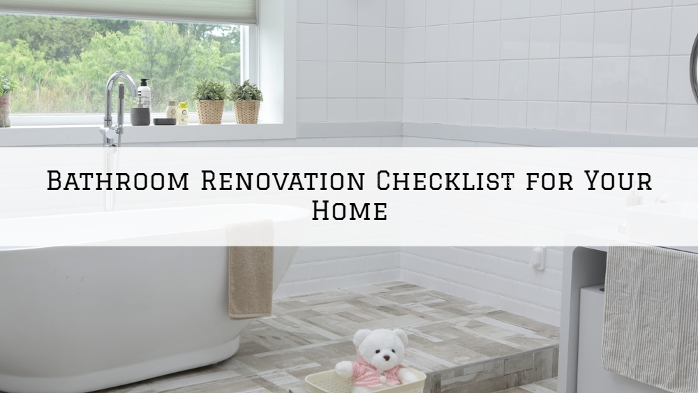 Bathroom Renovation Checklist for Your Home in Rochester, MI