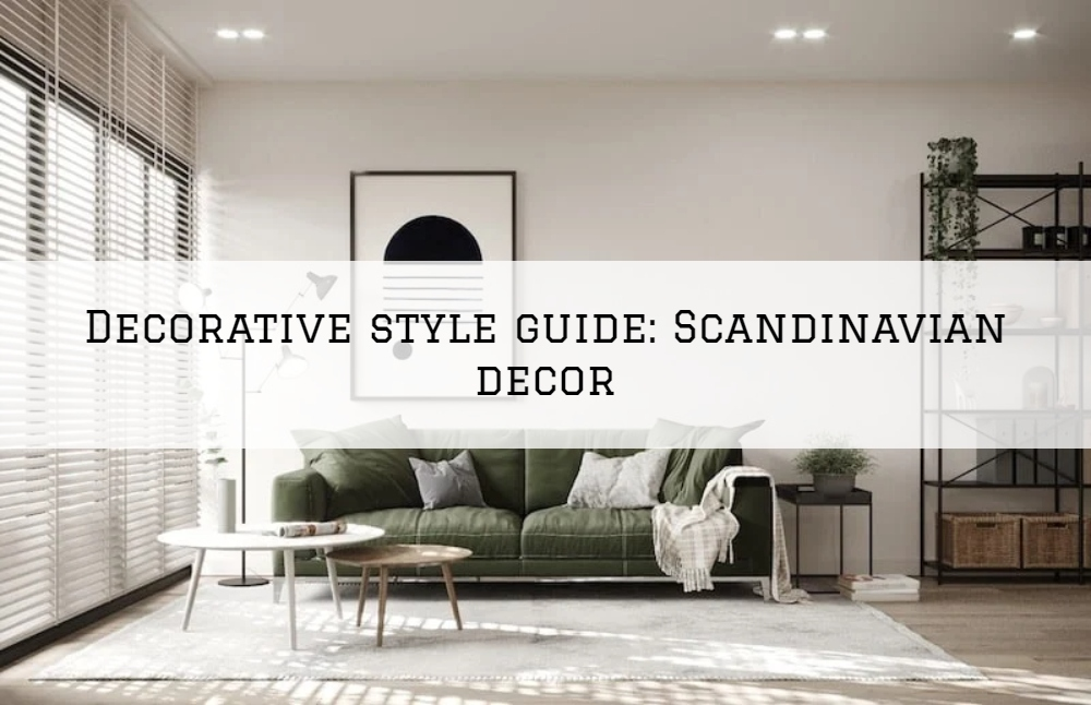 Decorative style guide_ Scandinavian decor