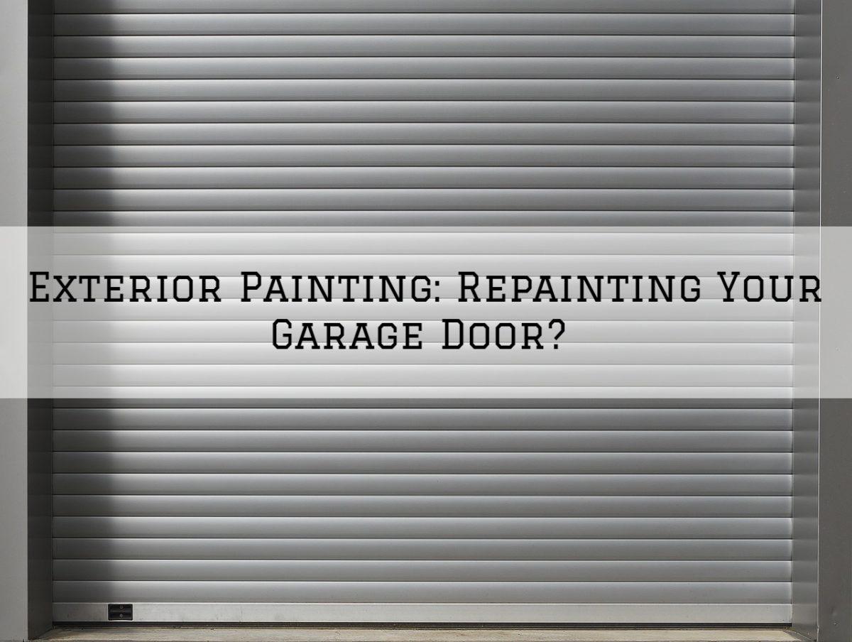 Exterior Painting Washington MI_ Repainting Your Garage Door_