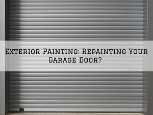 Exterior Painting Washington MI_ Repainting Your Garage Door_