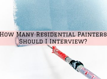 hiring painting contractors
