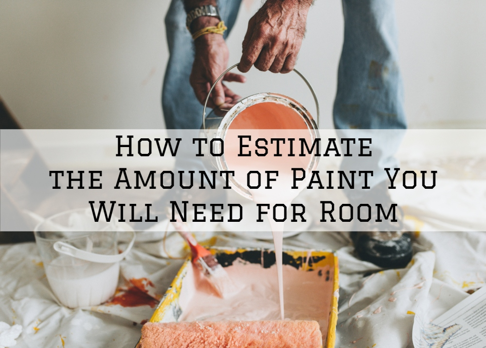 How to estimate the amount of paint you will need for room - What do you need to paint a room ...