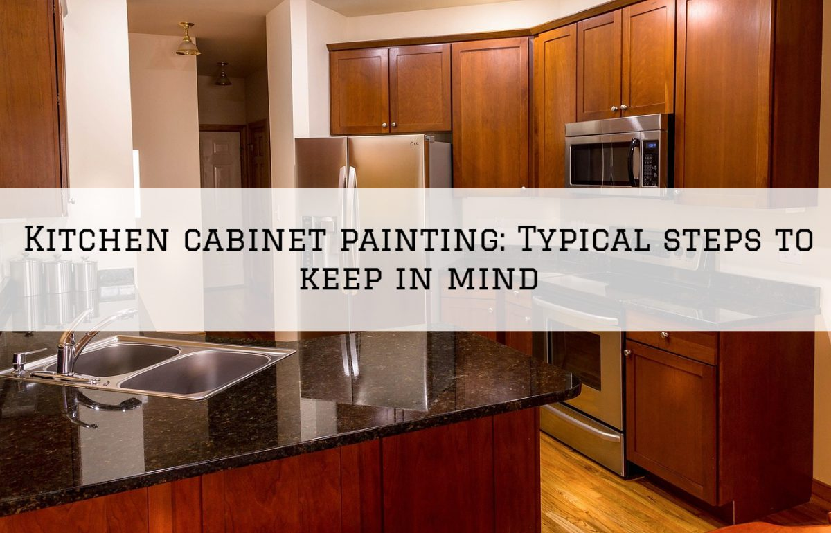 Kitchen cabinet painting Romeo, MI_ Typical steps to keep in mind