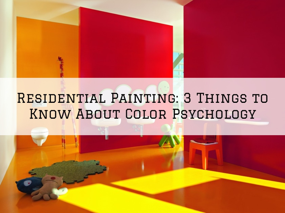 Residential Painting Romeo, MI_ 3 Things to Know About Color Psychology