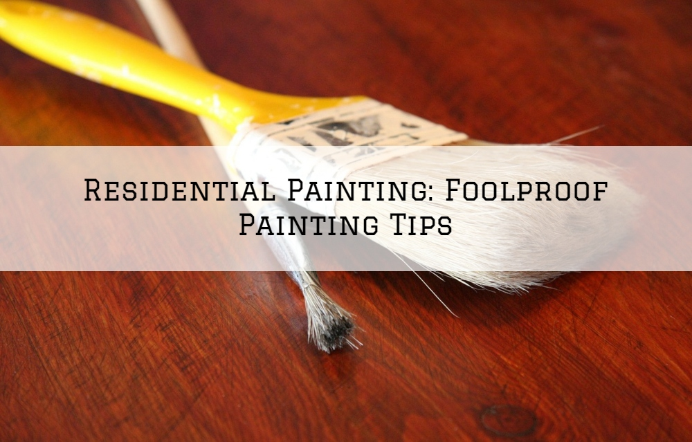 Residential Painting Washington, MI_ Foolproof Painting Tips