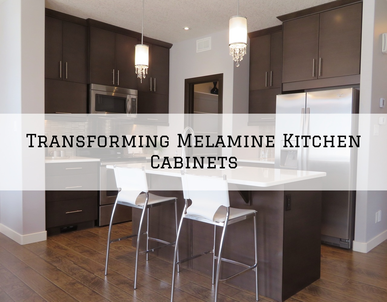Transforming Melamine Kitchen Cabinets In Richmond Mi Eason Painting